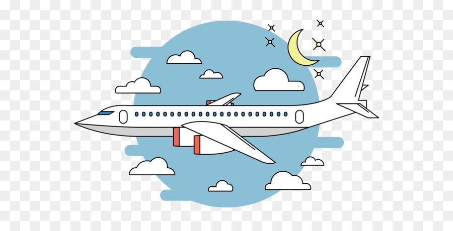 Airplane Flight Cartoon