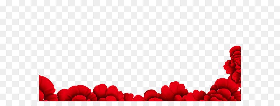 flower red wallpaper