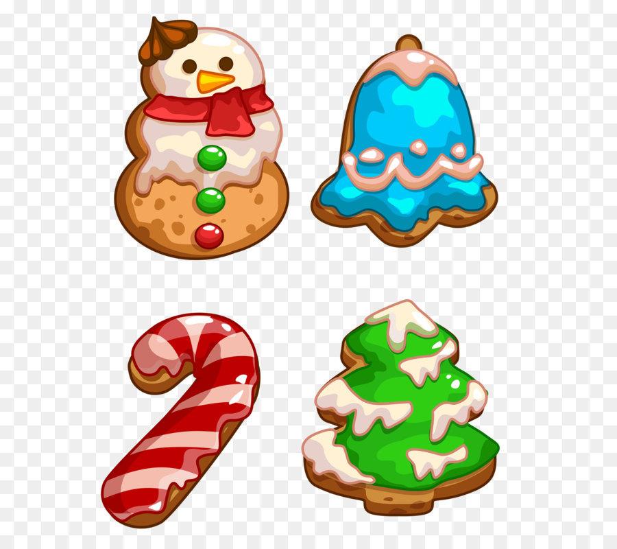 Weihnachtsplätzchen Clipart.Lebkuchen Christmas Cookie Clip Art Weihnachtsplätzchen Png