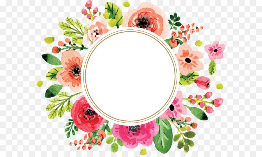 Corona De Flores Dibujo