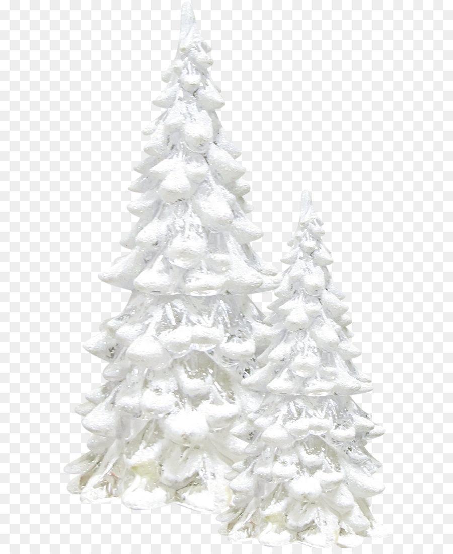 Snow Tree Winter Pine White Snow Tree Png Download 939 1574