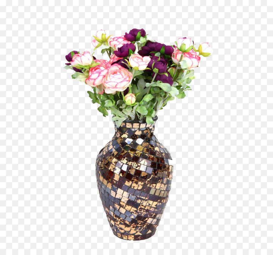 Vase Glass Flower bouquet - flower png download - 1100*1390 - Free ...