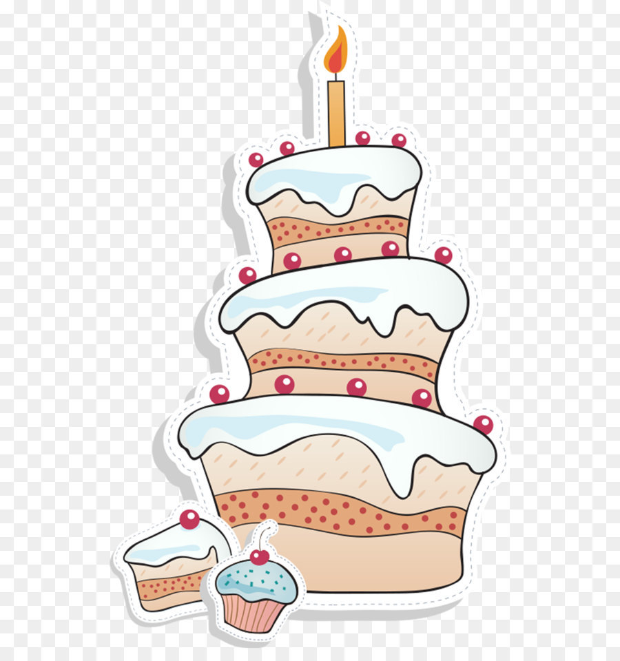 Cartoon Birthday Cake Stock Image Png Download