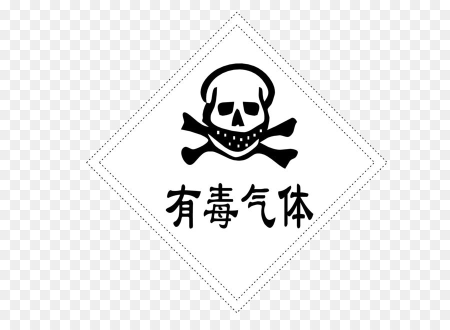 Toxic Gas Signs Png Download 21072107 Free Transparent Skull