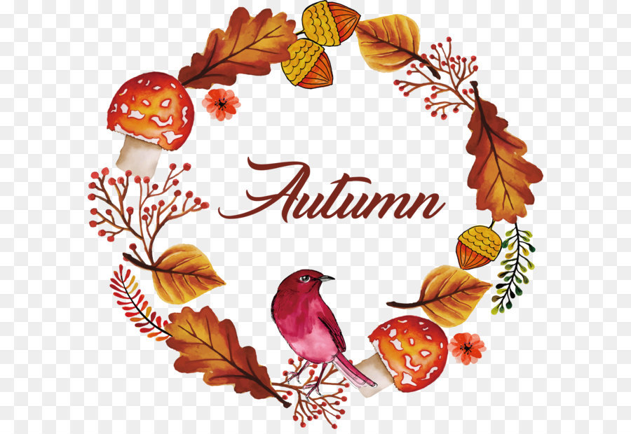 Autumn Pattern Background png download - 2920*2752 - Free