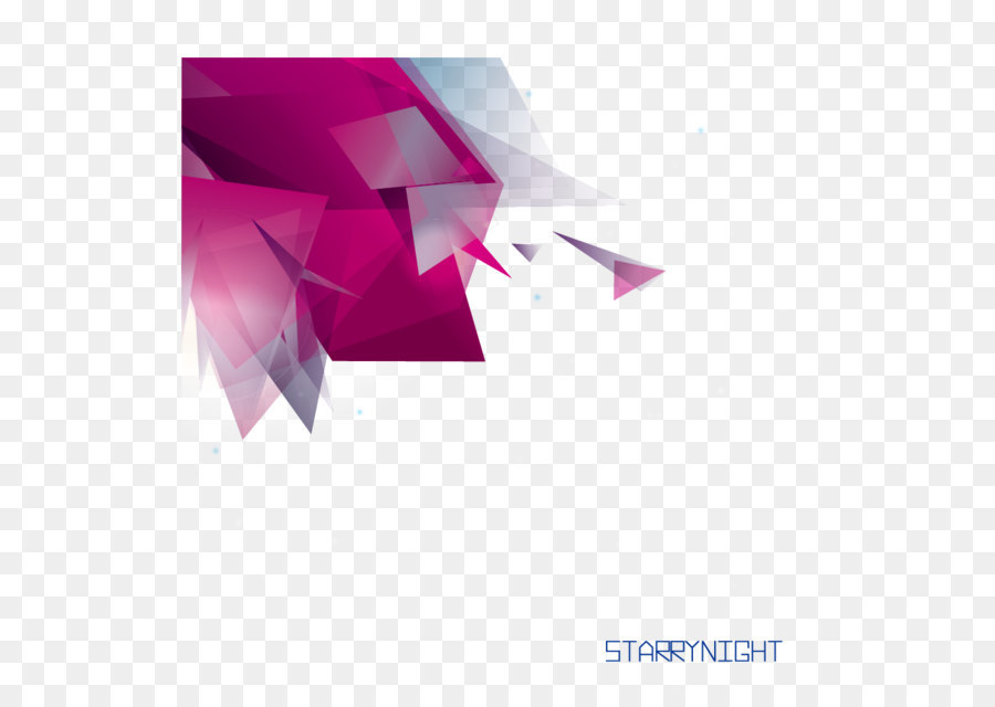 Vector Decorative Background Origami Overlapping Changes