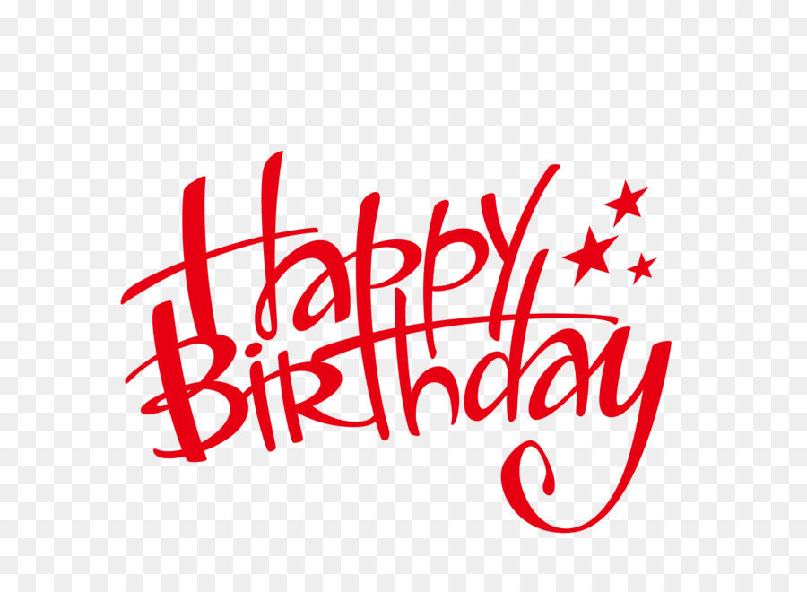 Happy Birthday Word Png Download
