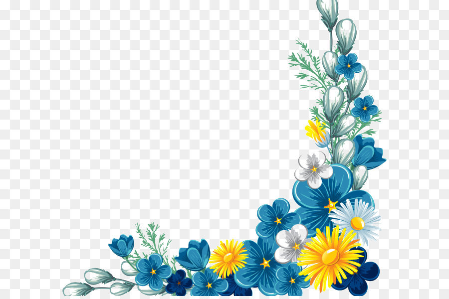 flower yellow clip art decorative borders png download daisies clipart black and white daisies clip art free