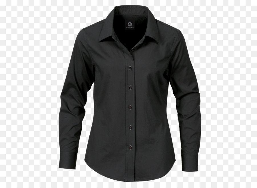 T Shirt Dress Shirt Clothing Black Dress Shirt Png Image Png