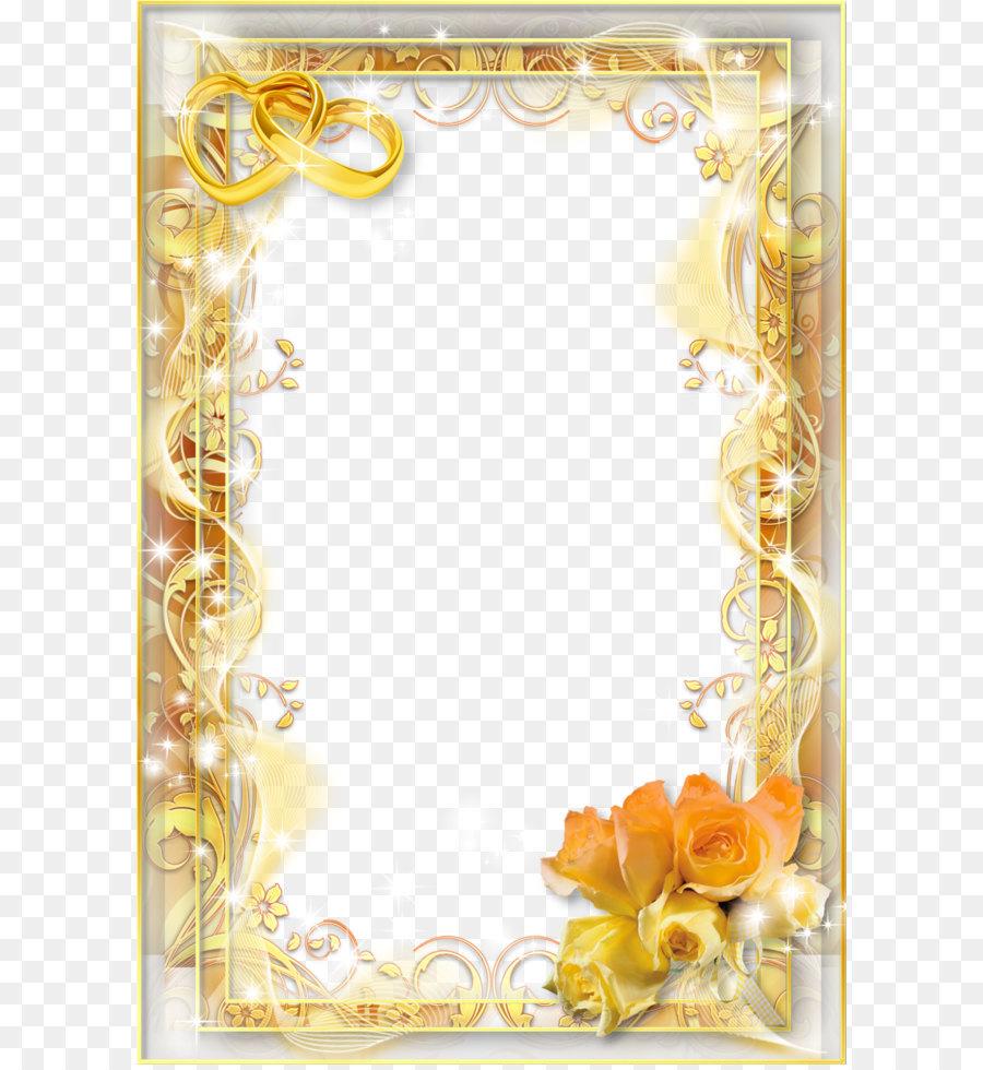 wedding invitation picture frame wedding frame png png download