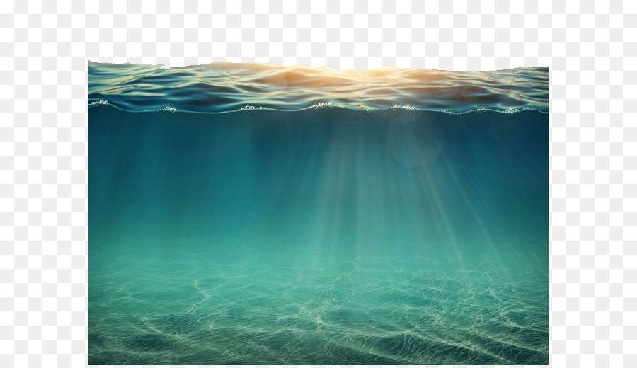 Underwater Sea Ocean Submarine Volcano Sea Png Png