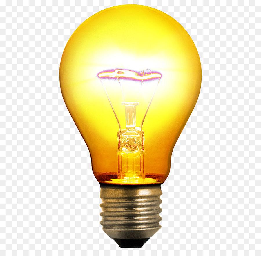 Incandescent Light Bulb Lighting Invention Clip Art Yellow Rh Kisspng Com Christmas