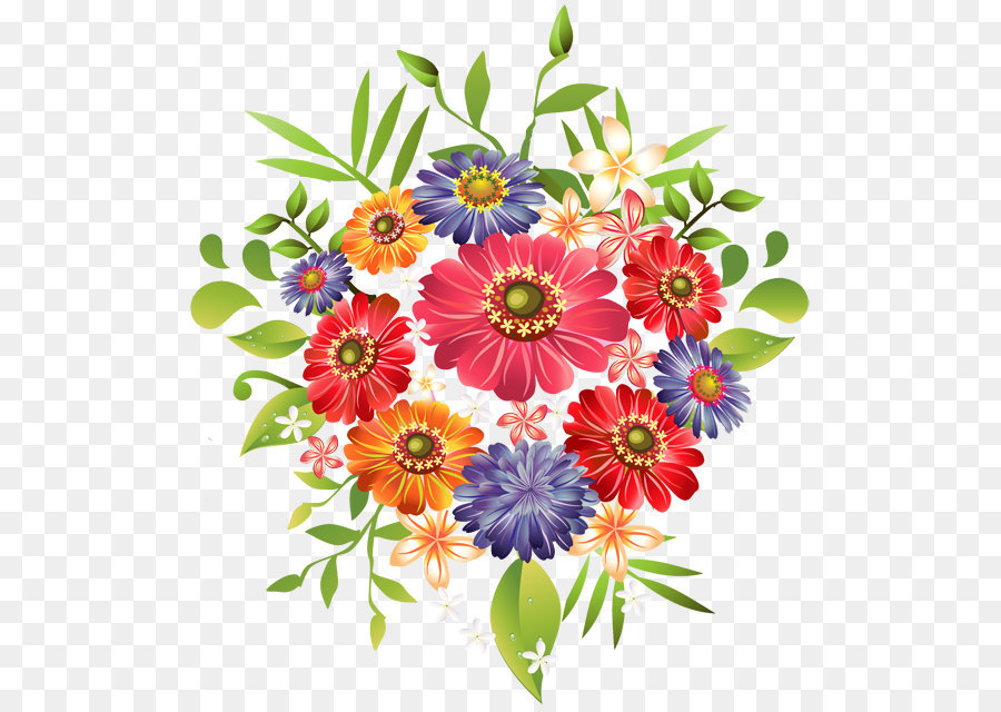 Bouquet Flowers PNG Png Download