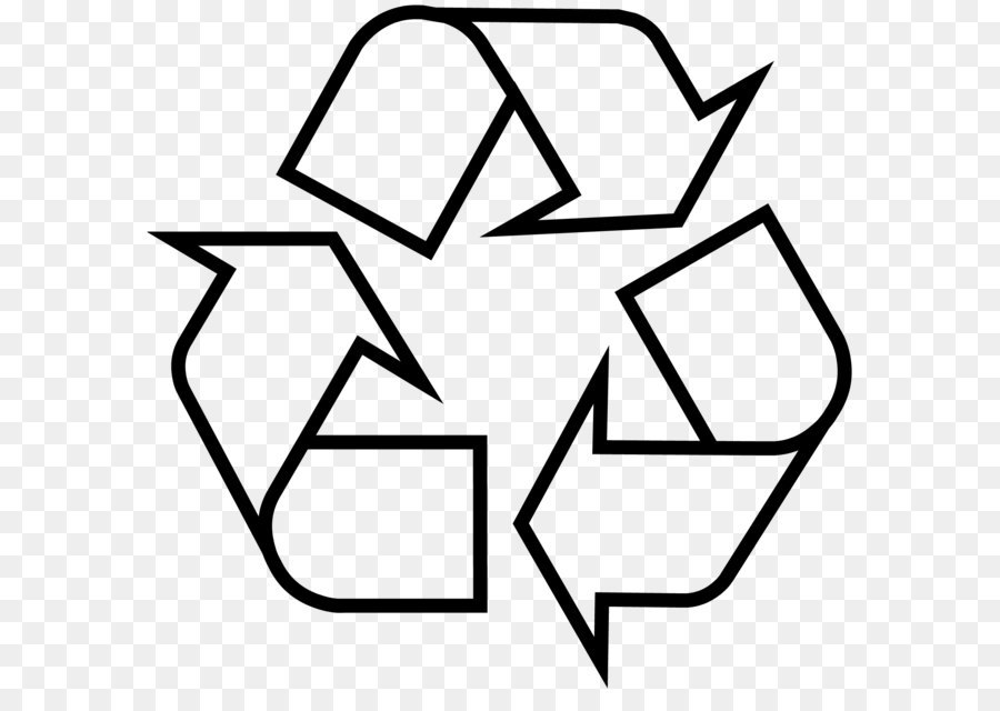 Recycling Symbol Sticker Recycling Bin Waste Container Recycle Png