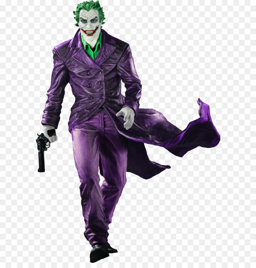 Joker batman black and white statue dc comics joker png