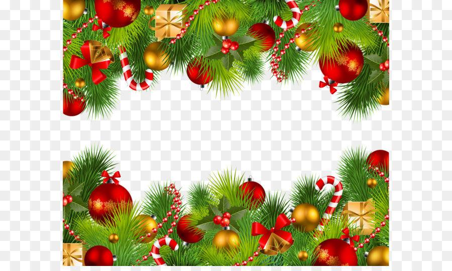 Seni klip batas Natal - natal gambar png 2600*2118