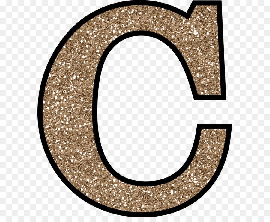 Glitter Alphabet Letter C - letter C PNG png download ...