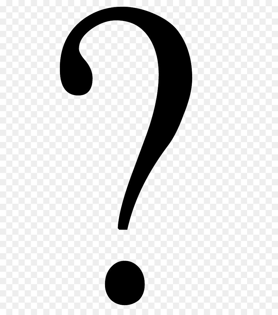 Brand Black And White Pattern Question Mark Png Png Download 649