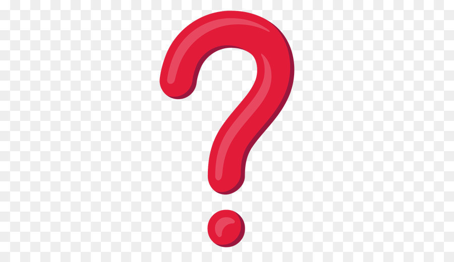 Red Question Mark Png Png Download 512 512 Free