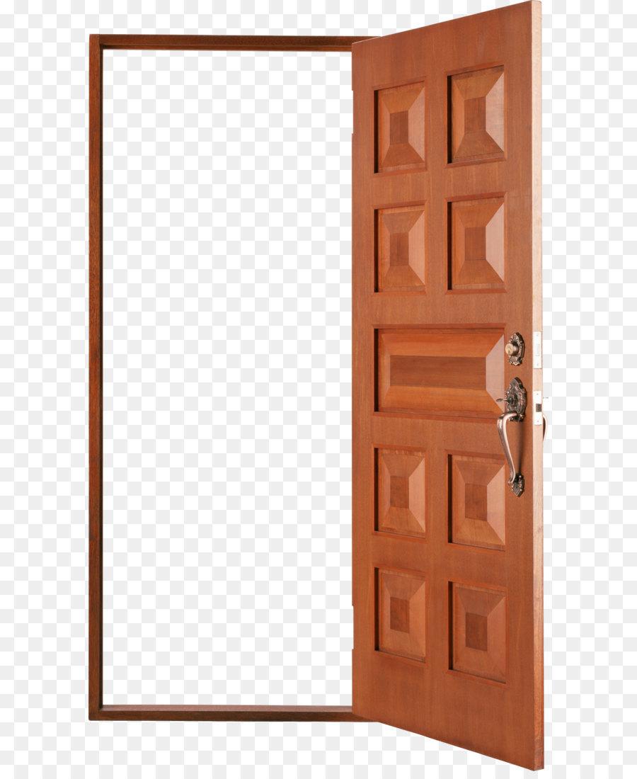 Wood stain Door Brown Angle - Open door PNG  sc 1 st  PNG Download & Wood stain Door Brown Angle - Open door PNG png download - 1642*2751 ...