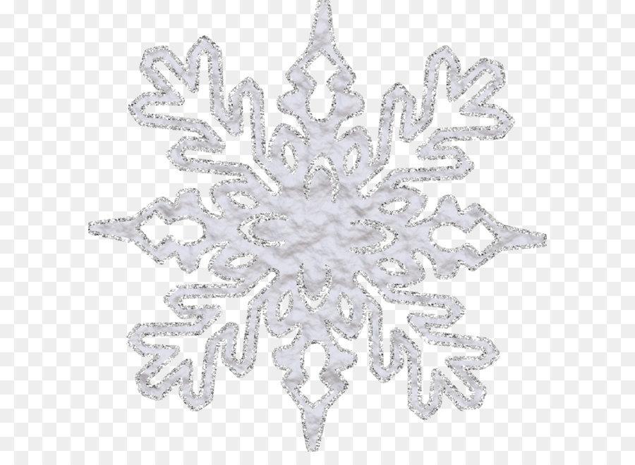 Copo de nieve de gráficos de Trama Clip art - Copo de nieve de ...