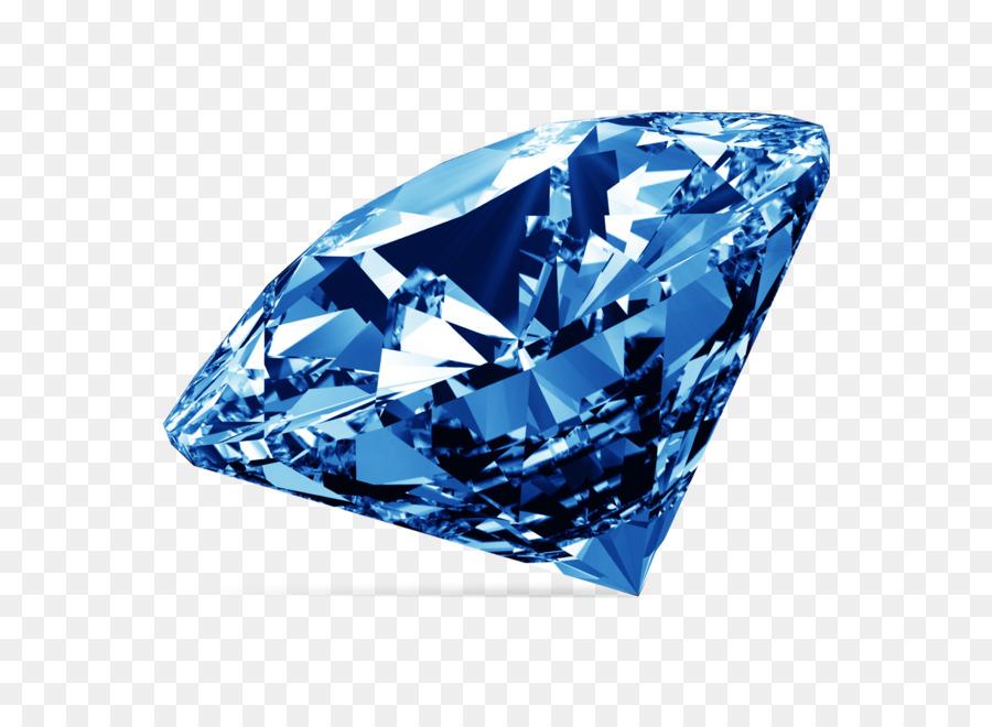 Голубой бриллиант бриллиант цвет - Синий изображение алмаз ПНГ png ... 4f63a9035da