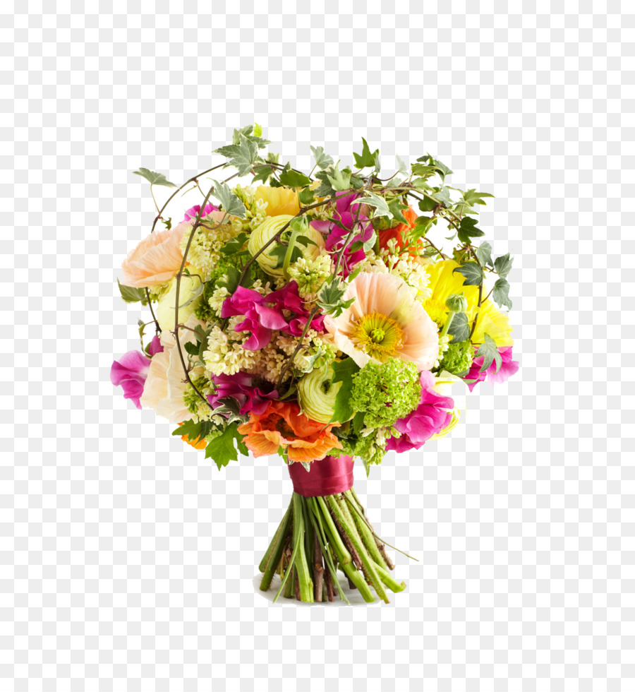 Wedding Flower bouquet Clip art - Wedding flowers PNG png download ...