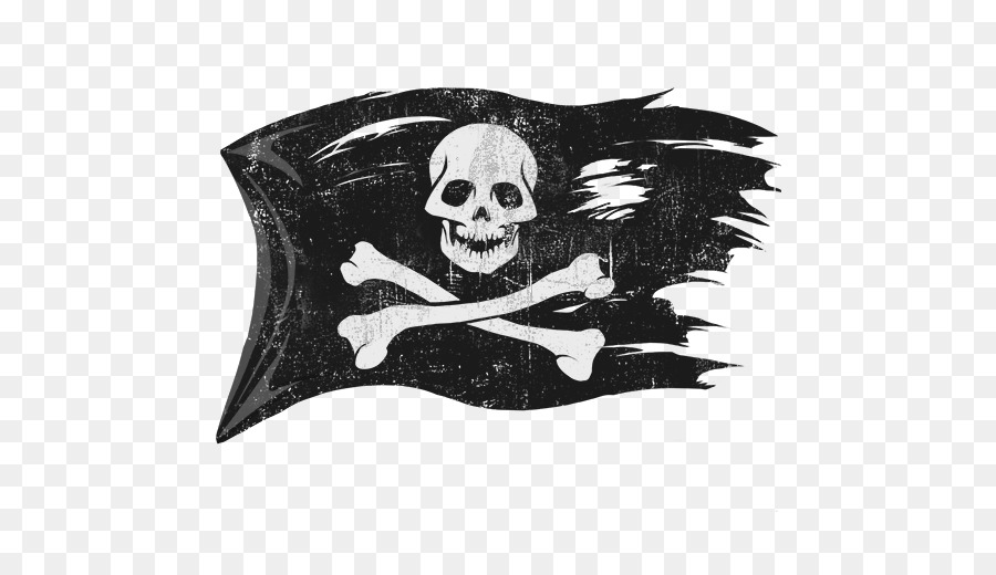 Jolly Roger Piracy Flag Pirate Flag Png Png Download