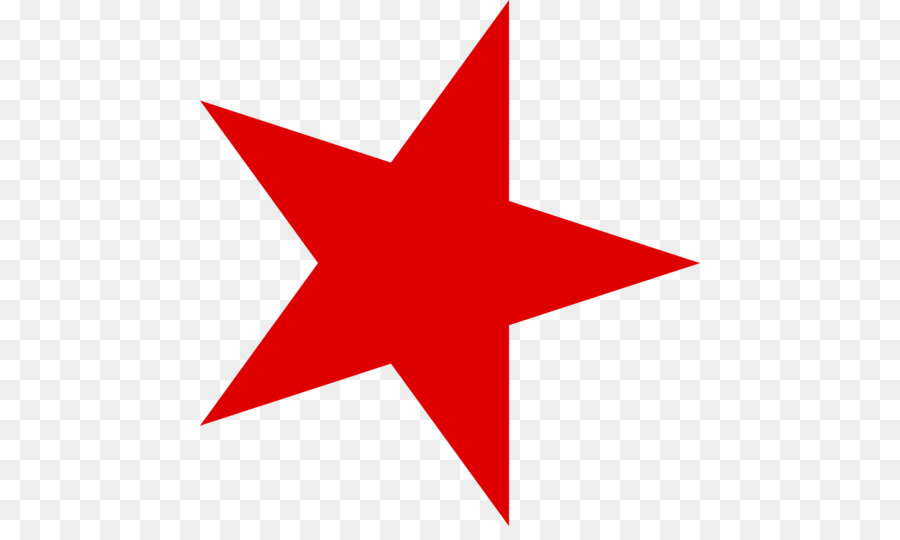 Red Star Star And Crescent Five Pointed Star Red Star Png Png