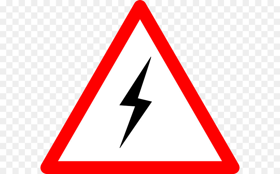 Risk Hazard Icon Clip art - High voltage PNG png download - 640*560 ...