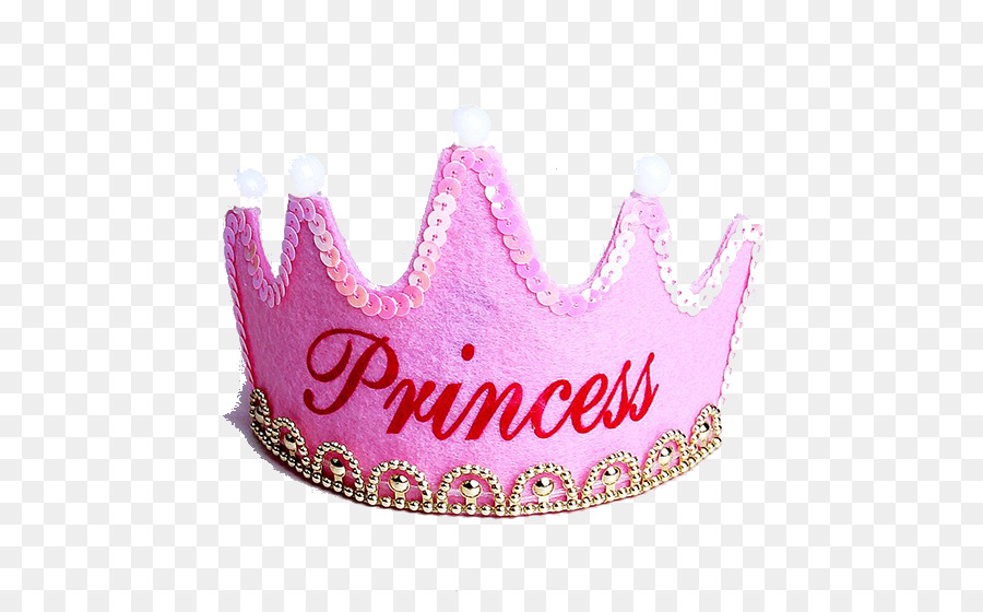 Pink Birthday Crown Png Download 550 550 Free