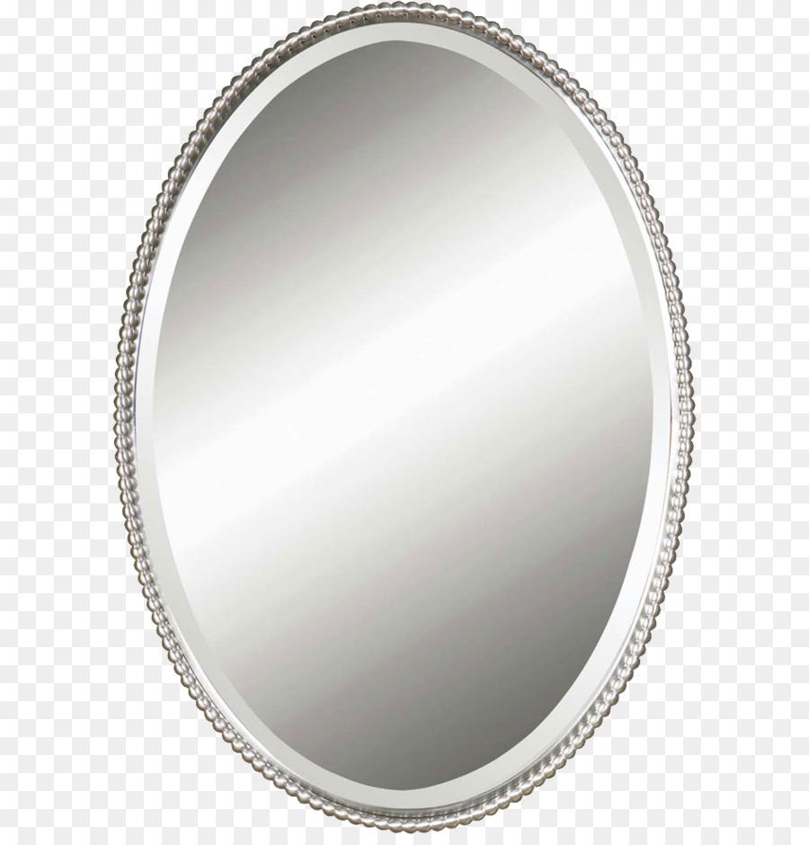 Light Mirror Oval Nickel Metal - Mirror PNG Formatos De Archivo De ...