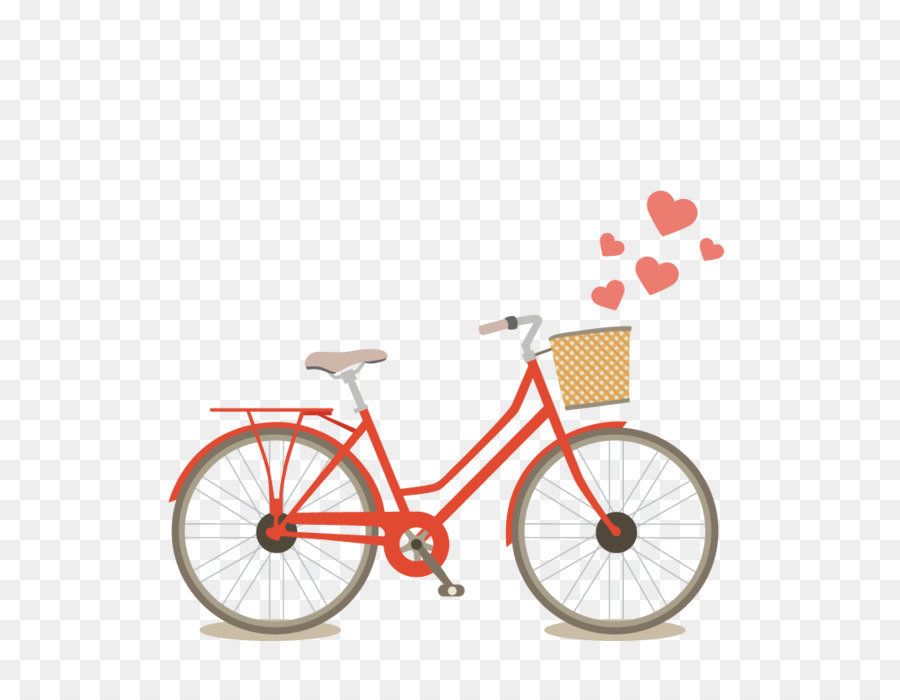 Vector Red Bicycle Png Download 800 842 Free