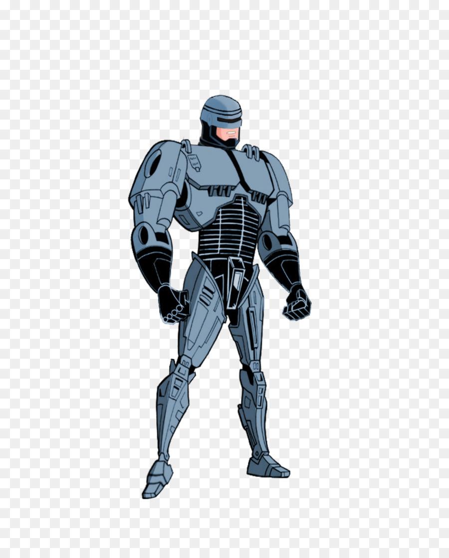 Robocop Kartun Superhero Cyborg Robocop Png Unduh Superhero