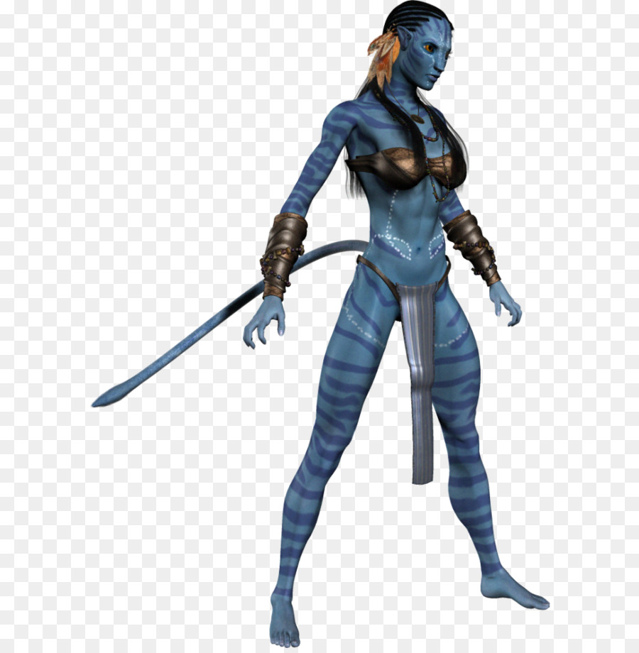 Neytiri Icon 3D Computer Graphics