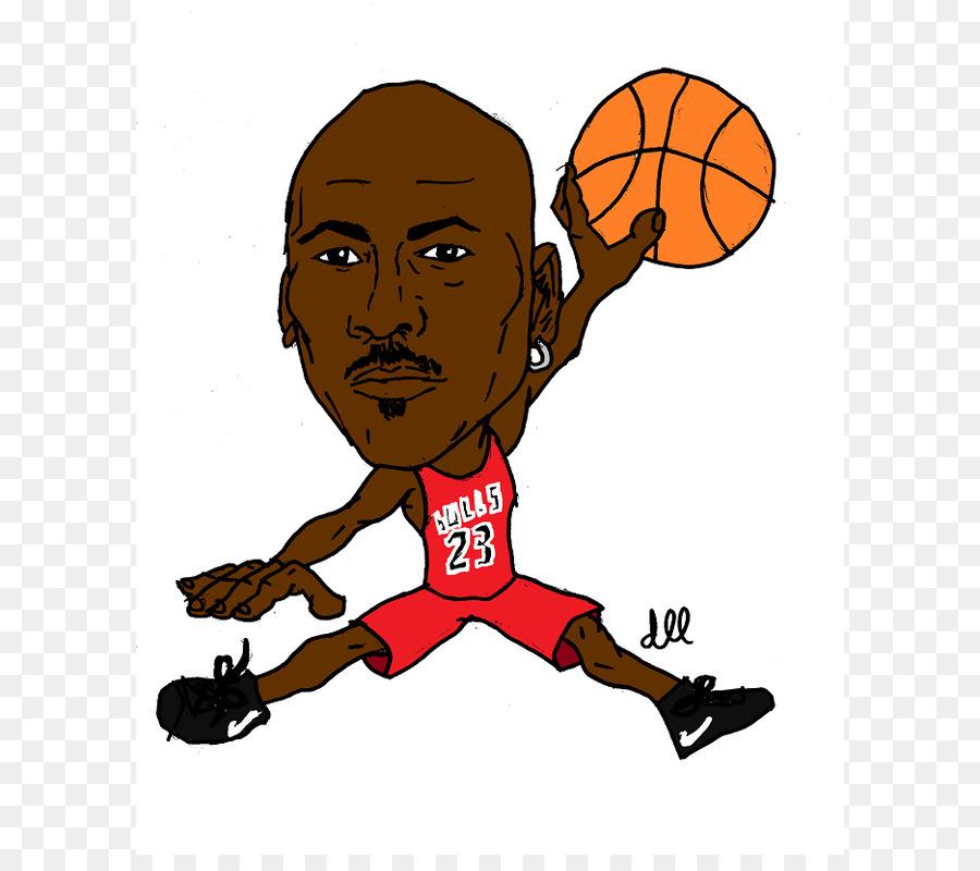 Michael Jordan Jumpman los Chicago Bulls de la NBA de dibujos ...