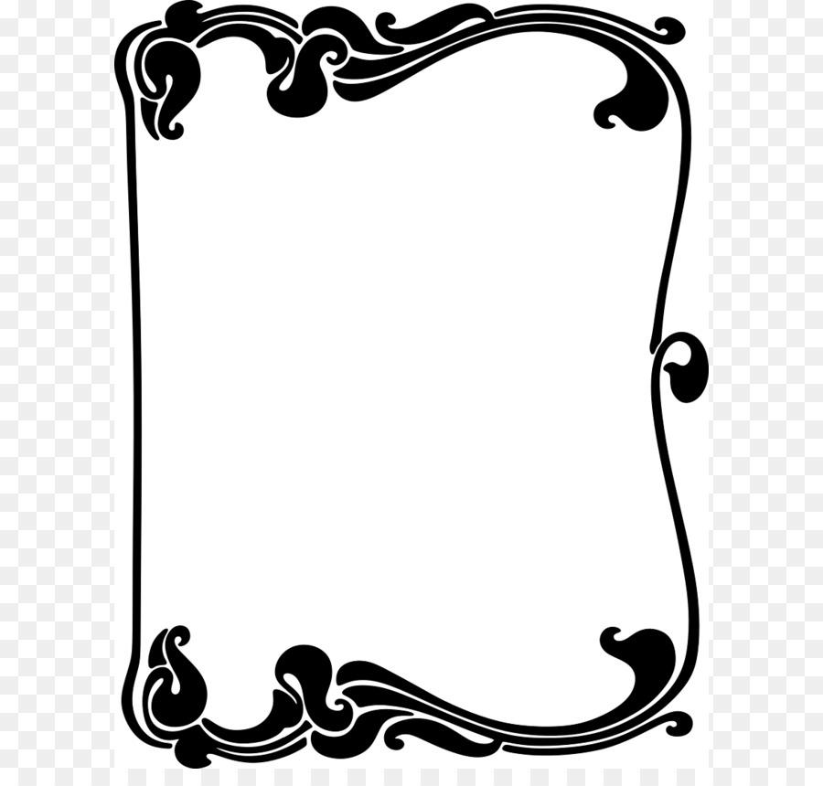 art nouveau art deco clip art curvy border cliparts png download rh kisspng com art nouveau frame clipart art nouveau clipart clipart
