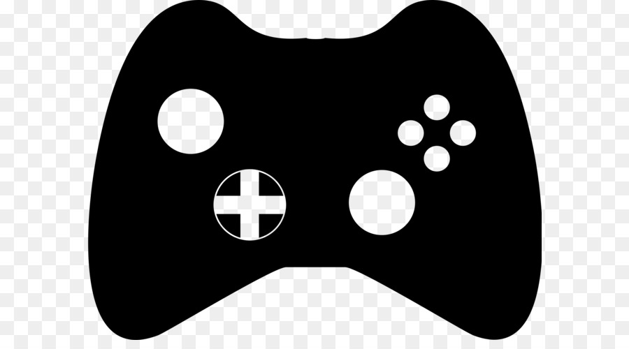 D Line Drawings Xbox : Black white xbox controller game clip art