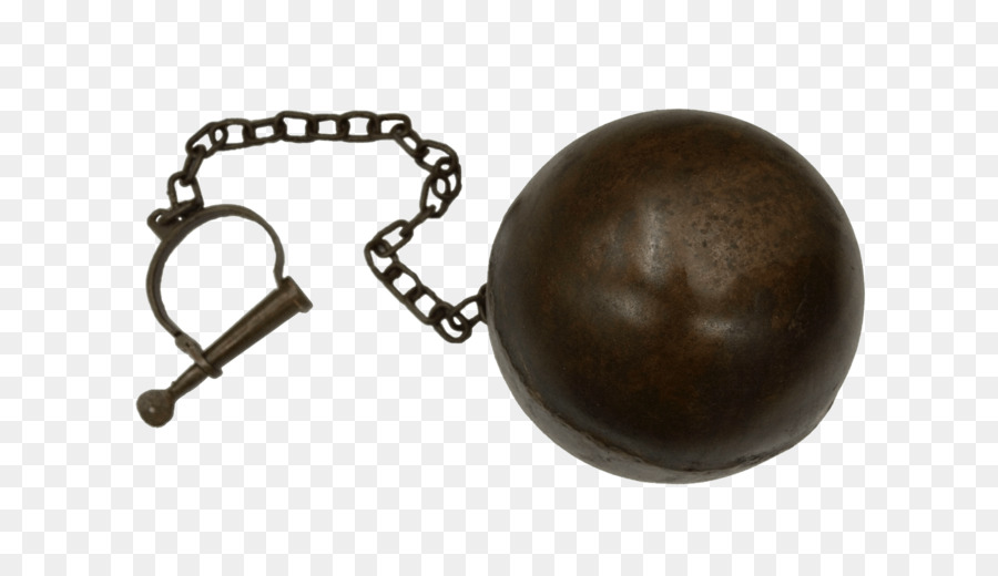 ball and chain flail chain weapon prisoner s foot handcuffs png