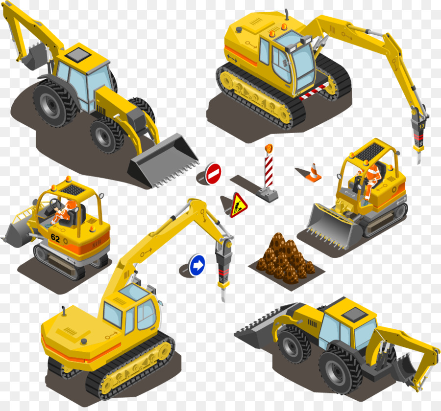 Excavator Heavy Equipment Machine