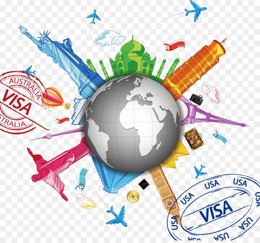 World Flight Travel Clip Art