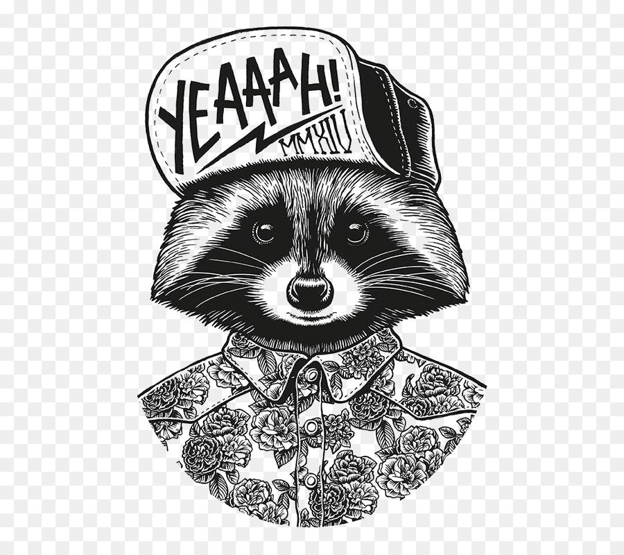 studio drawing graphic design illustration cartoon raccoon png