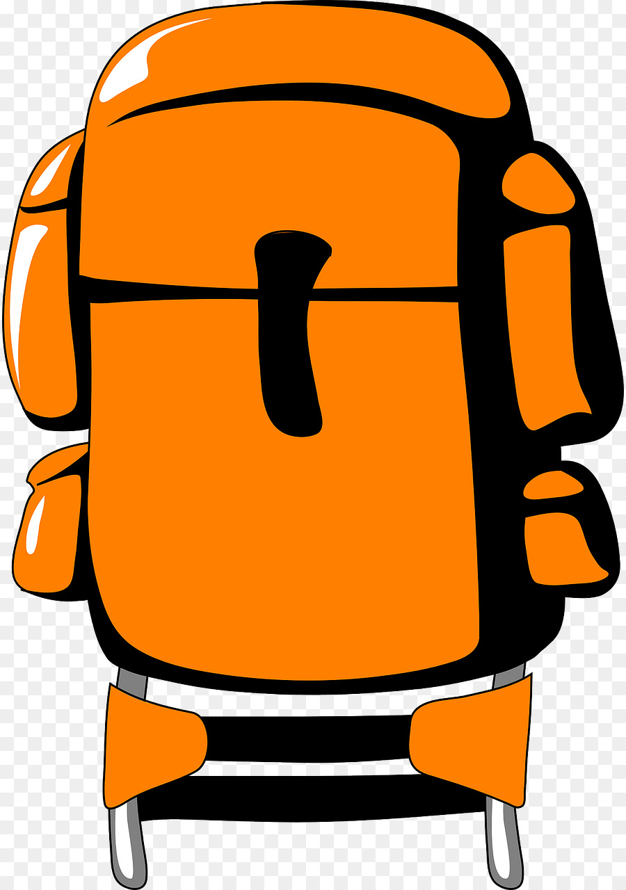 backpacking hiking clip art orange backpack png download 894 rh kisspng com clip art hiking mountain clipart hiking boots