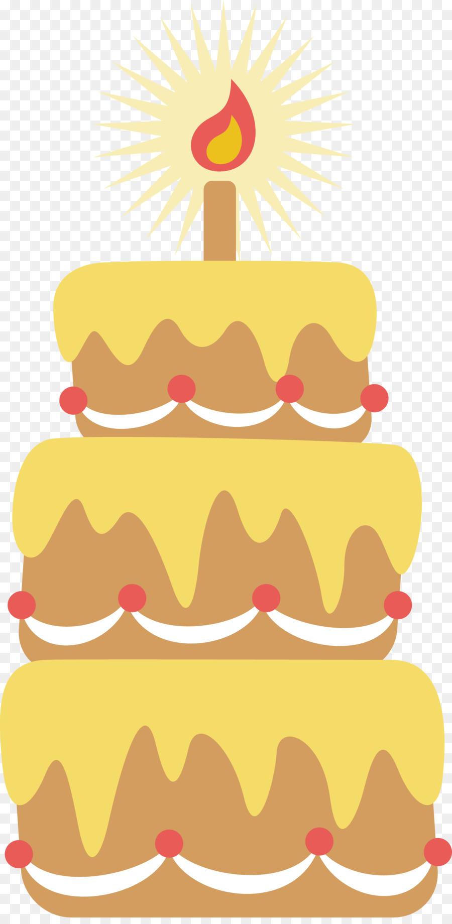 Wedding cake Birthday cake Torte Chocolate cake Layer cake - Vector ...