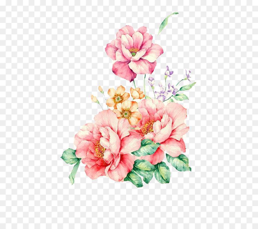Flower Watercolor Painting Floral Watercolor Png