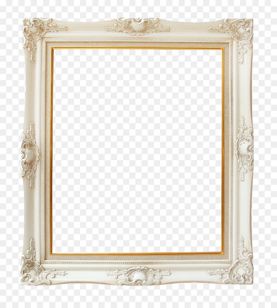 Picture Frame Wallpaper Ivory Vintage Frame Png Download 870