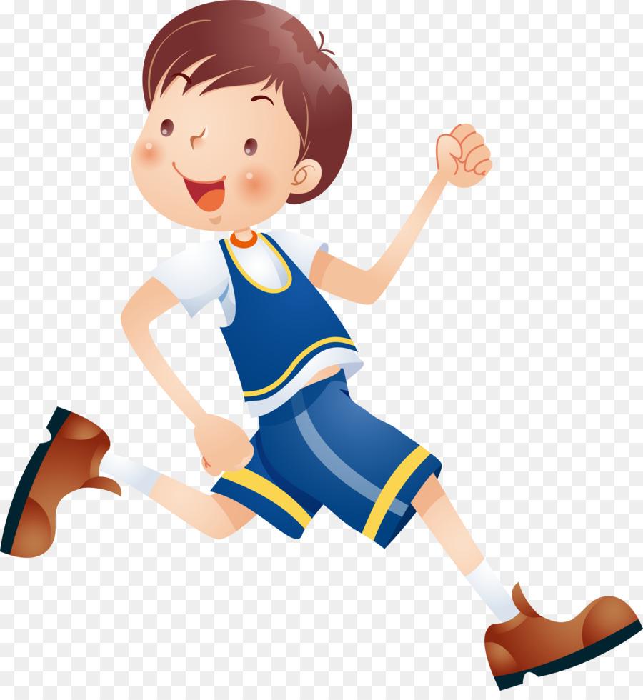 Child Cartoon Clip Art Running Kids 4729 5079 Transprent