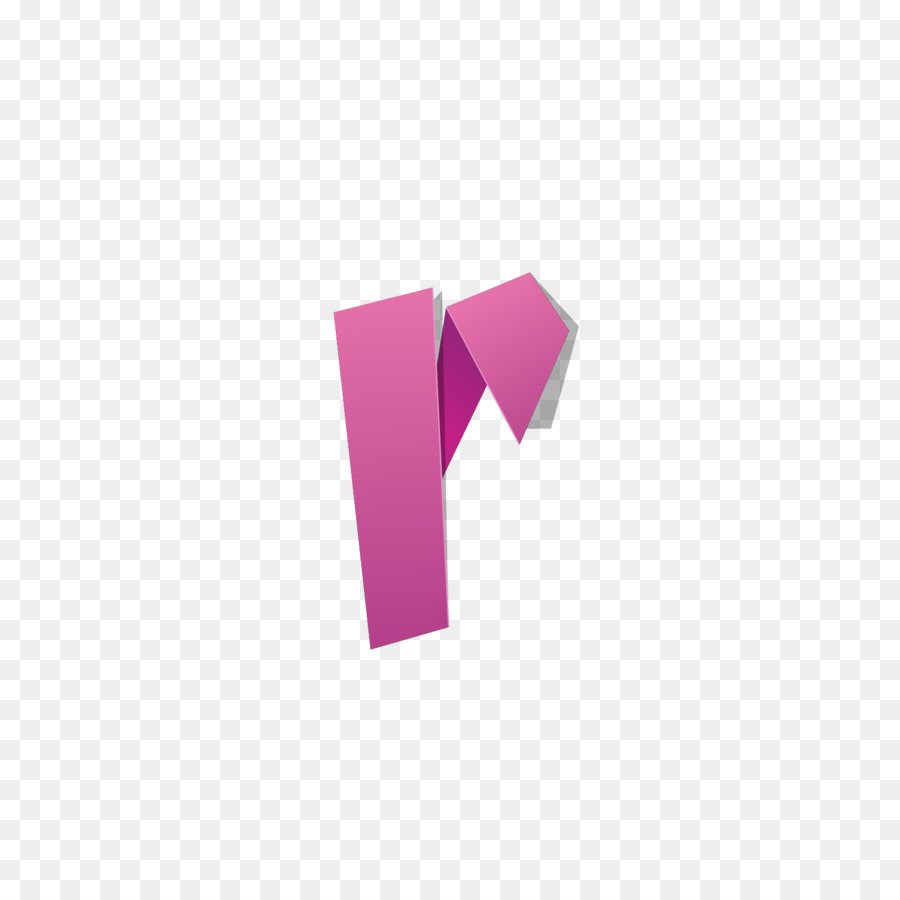 Letter English alphabet - Red origami letter R png download - 1600 ...
