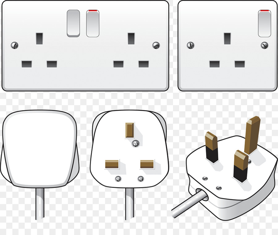 AC power plugs and sockets Electrical wiring Power cord Network ...