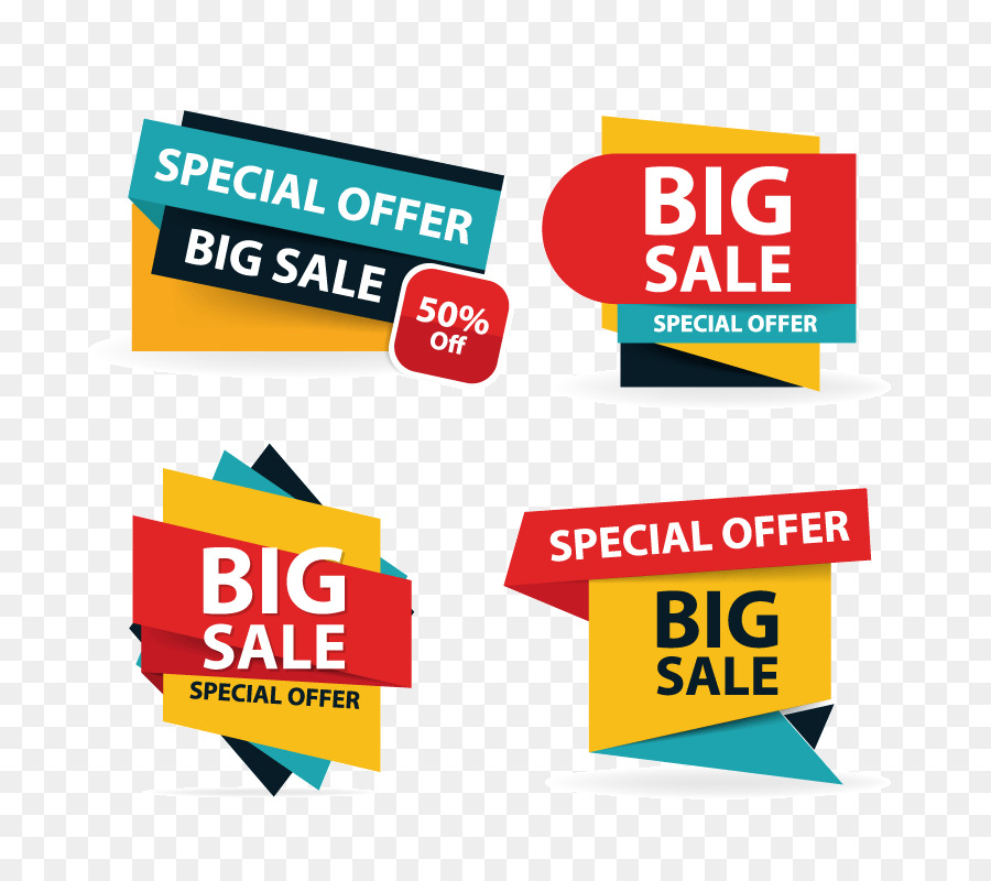 sales poster logo illustration colorful shopping sale flyer poster